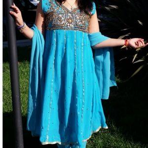Indian dress salwar kameez wedding anarkali dress